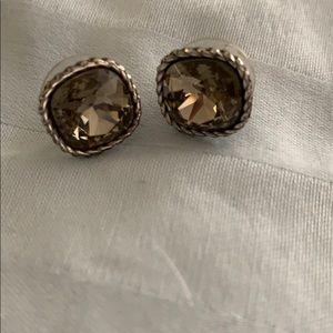 Brighton gray earrings